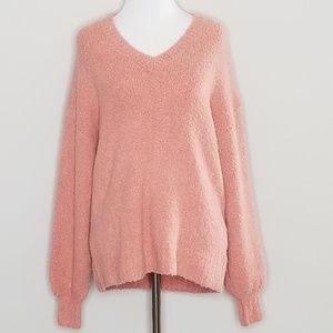 Velvet by Graham & Spencer | Plush Pink Sweater
